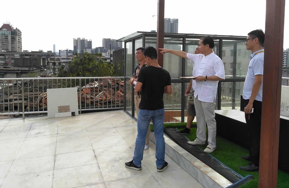 广州番禺客户买房前勘察买房风水